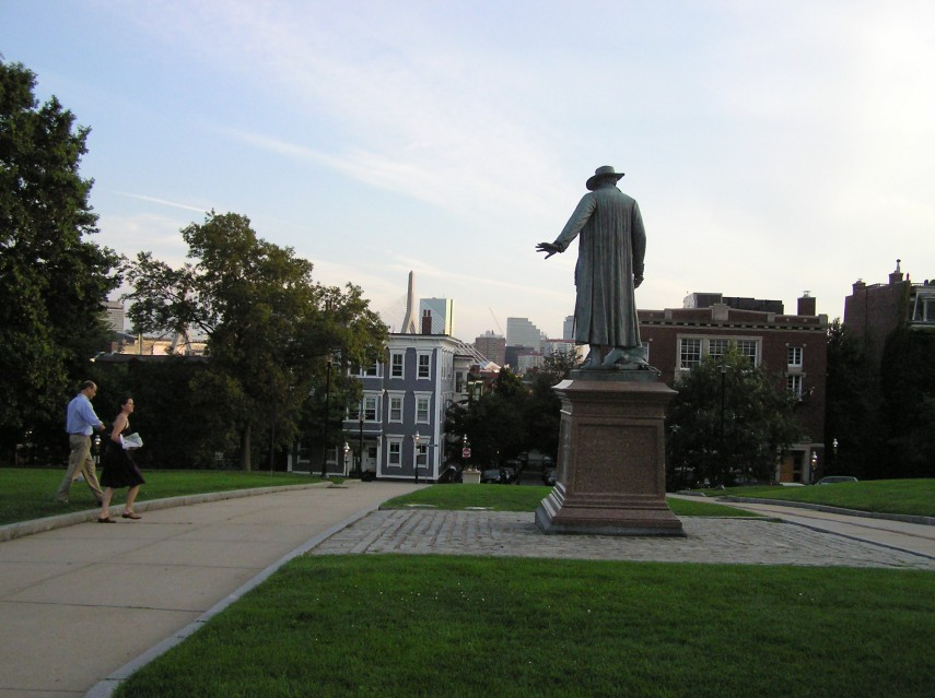 Statue of Colonel William Prescott, The Bunker Hill Battle June 17, 1775