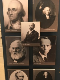Some of the prominent people who have spoken at the Meeting House