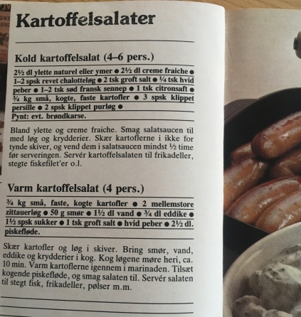 Potato Salad from the Karoline's Kitchen