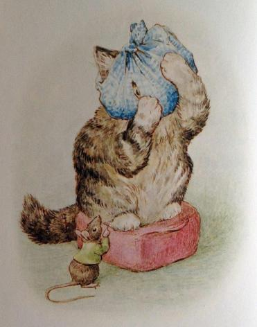 "A scene from ""The Story of Miss Moppet"""