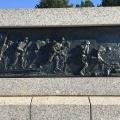 Bas-relief WWII Memorial