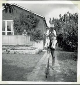 John carrying Adam
