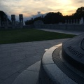 WWII Memorial bynight