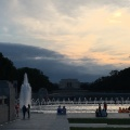 WWII Memorial by night