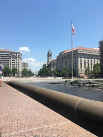 The Freedom Plaza in The Penn Quarter