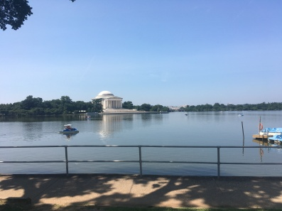 The Jefferson Memorial. View from the Tidal Basin