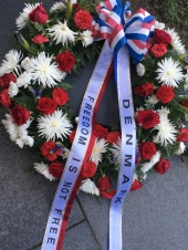 The Danish UN wreath