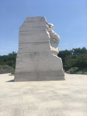 Washington DC Martin Luther King Memorial by Chinese Lei Yixin erected 2011
