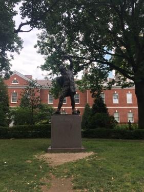 The Signer in Signers' Park Philadelphia