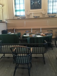 The courtroom of the Pennsylvania Supreme Court