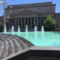 The National Archives seen from the Navy Memorial at MarketSquare