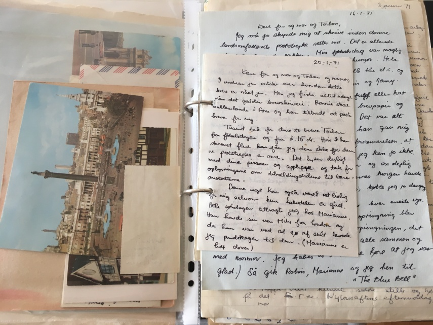 Some of my letters from that time in Manchester
