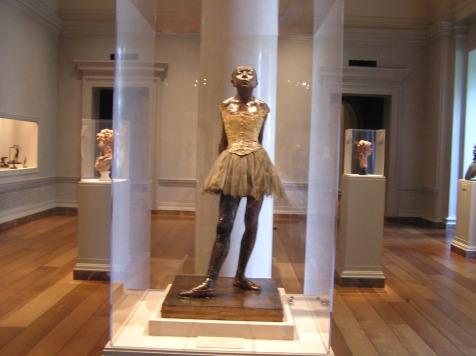 The Little Dancer in National Gallery of Art in Washington, D.C. taken 2009