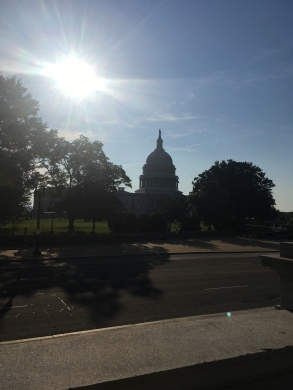 The Capitol from outside