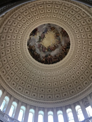 The Dome seen from the Rotunda