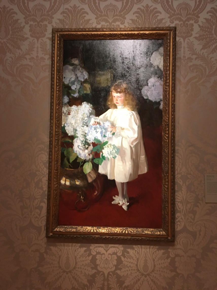 Boston Fine Art J. S. Sargent Helen Sears 1895