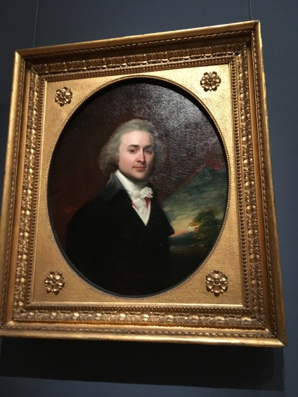 John Quincy Adams 28 years old1796 by John S. Copley (1738-1885) A gift to Abigail Quincy, Adams' mother 1796