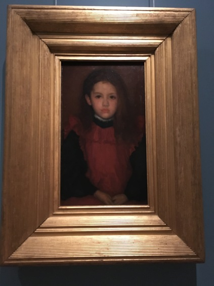 Little Rose of Lyme Regis 1895 by James Abbott McNeill Whistler