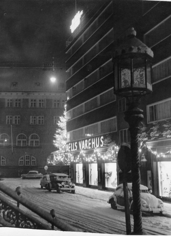 Daells Varehus 1959 Foto Bent Mogensen