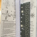 The instruction for making the stars and the paper stripesmaterial
