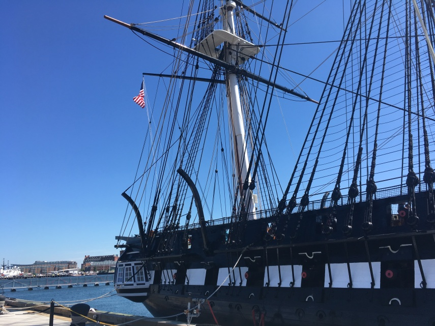 USS Constitution Charlestown Navy Yard
