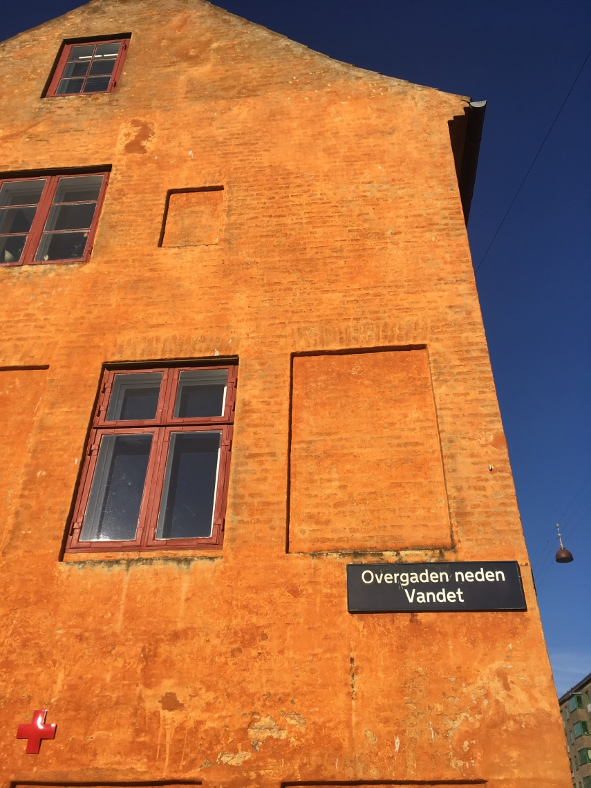 A special name of a street in Christianshavn, a part of Copenhagen