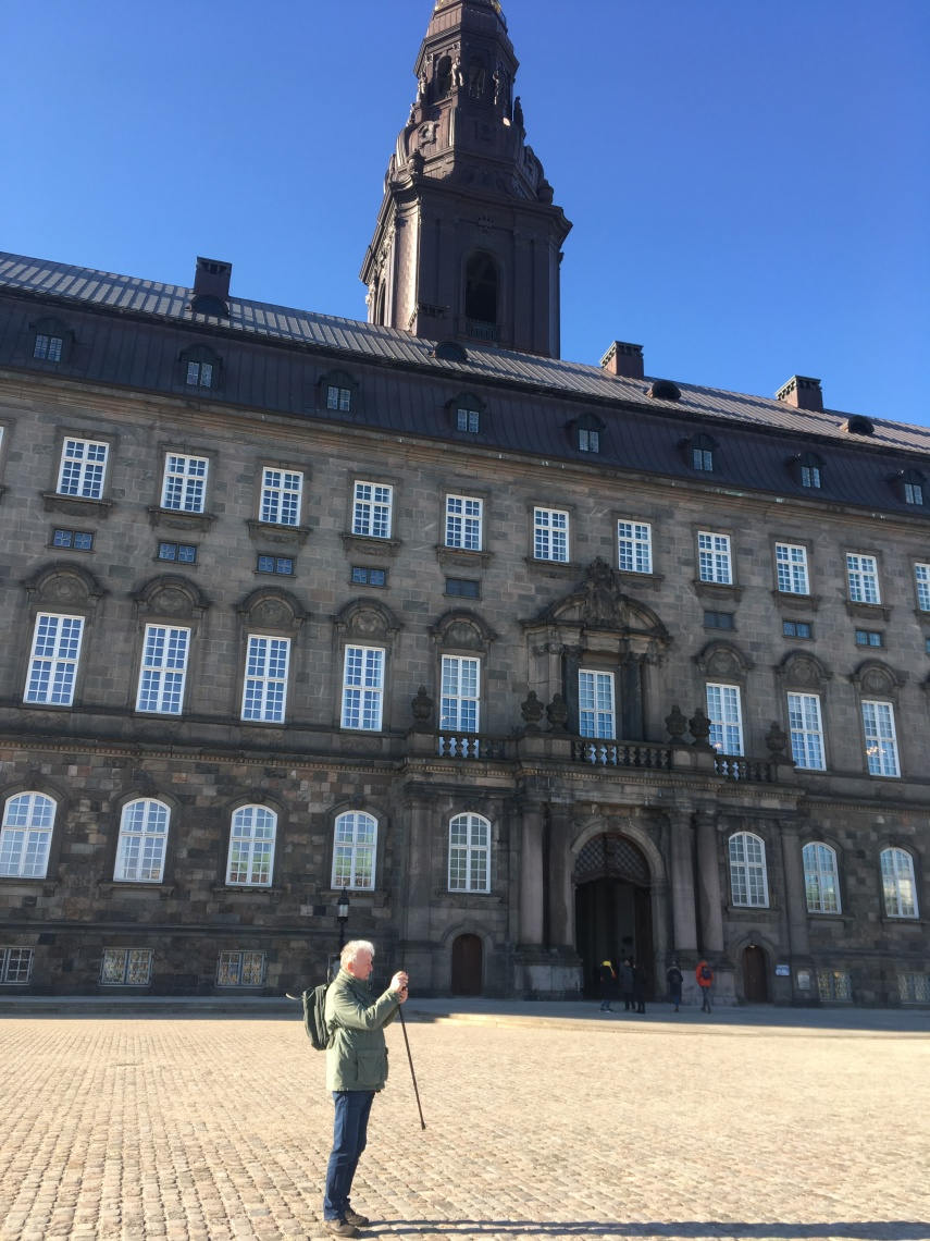 Christiansborg Castle, our government in Denmark