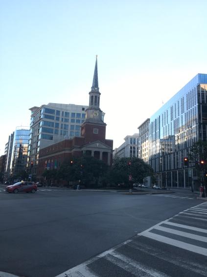 A church in the Penn Quarter of Washington, D.C.
