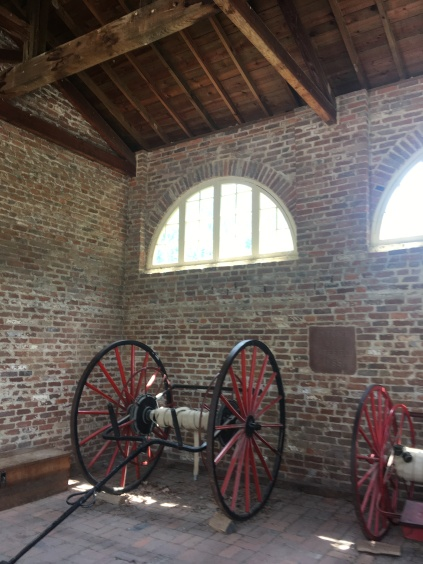Inside the John Brown Fort
