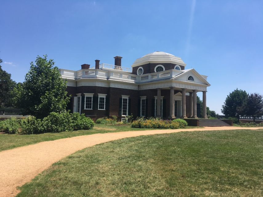 Monticello  built in the Neo-Classic style