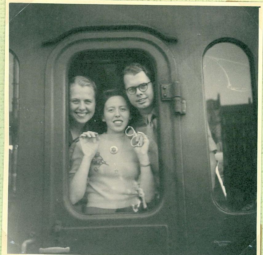 Departure from Copenhagen  1949
