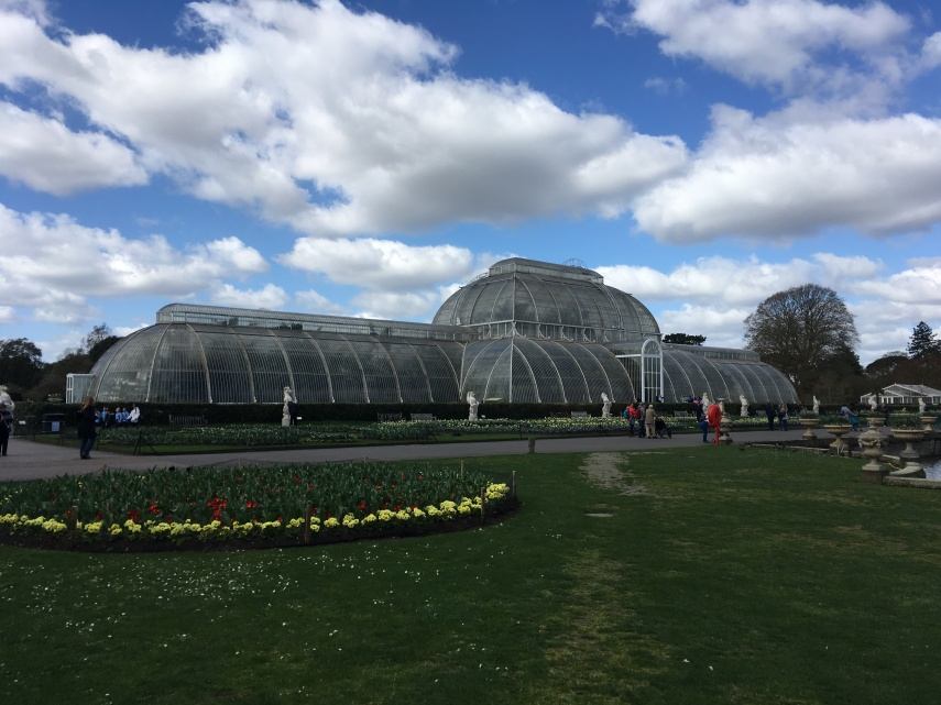The Palm House (1844-1848) designed by Decimus Burton