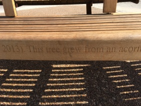 Inscription on the Memorial Seat at Kew Gardens