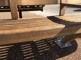 Inscription on the Memorial Seat