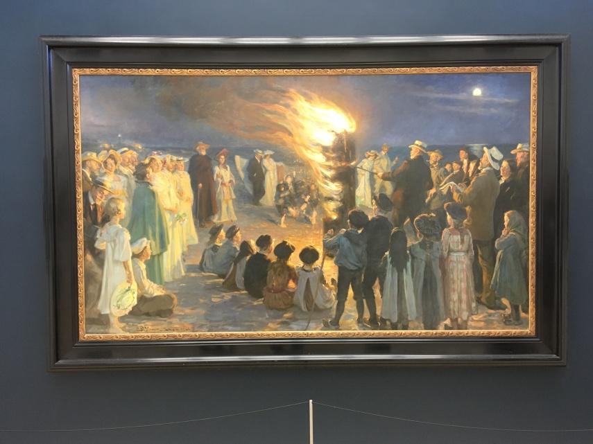 P.S. Kroeyer's Bonfire 1906