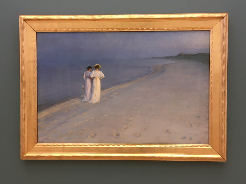 P.S. Kroeyer Summer evening at the Southern beach of Skagen