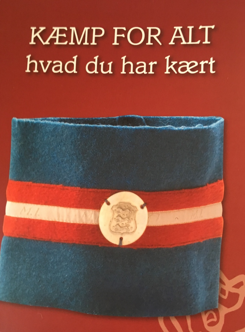 The front page of the book by Alfred Kirketerp that inspired me
