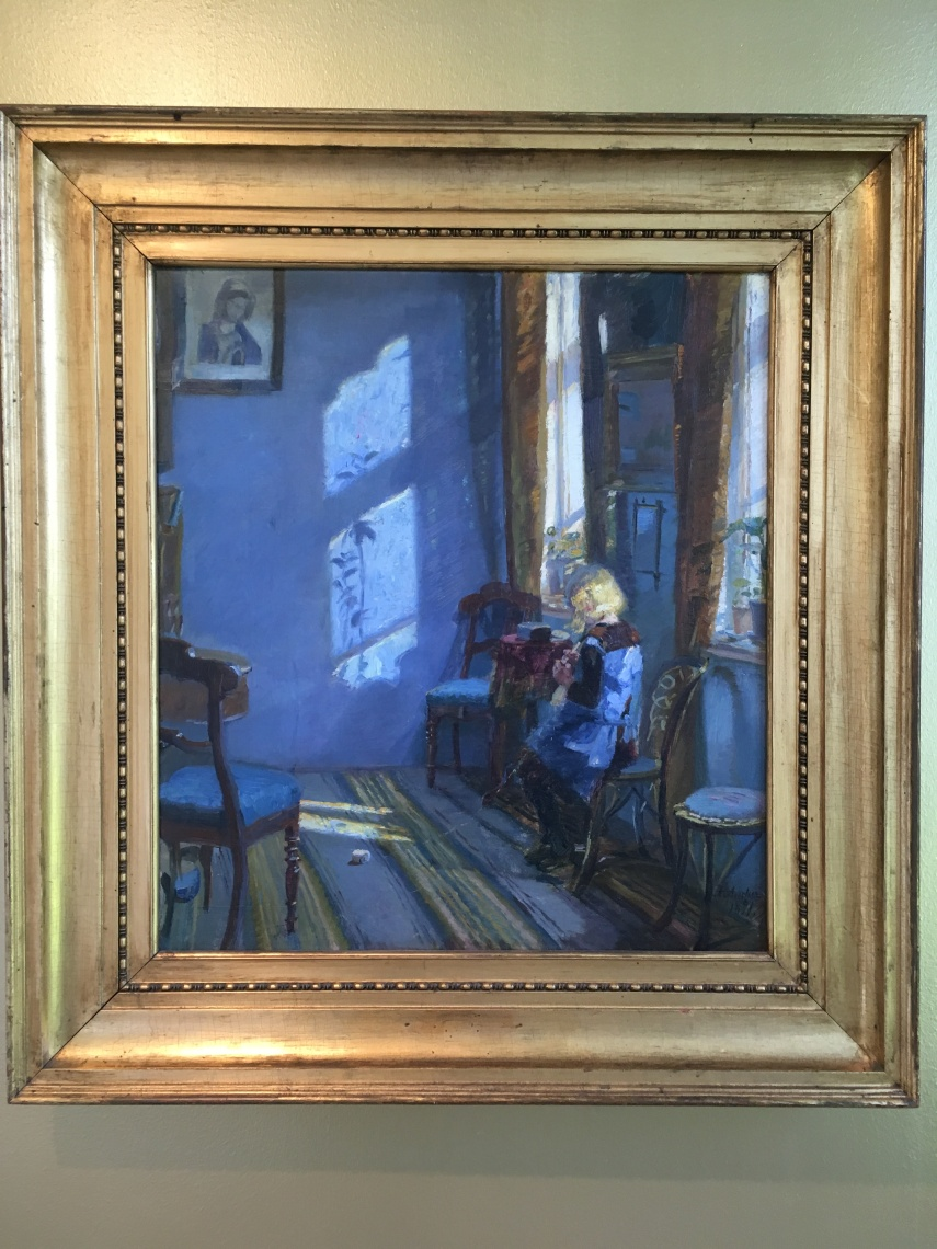 """Sunshine in the Blue Room"" Anna Ancher 1998"