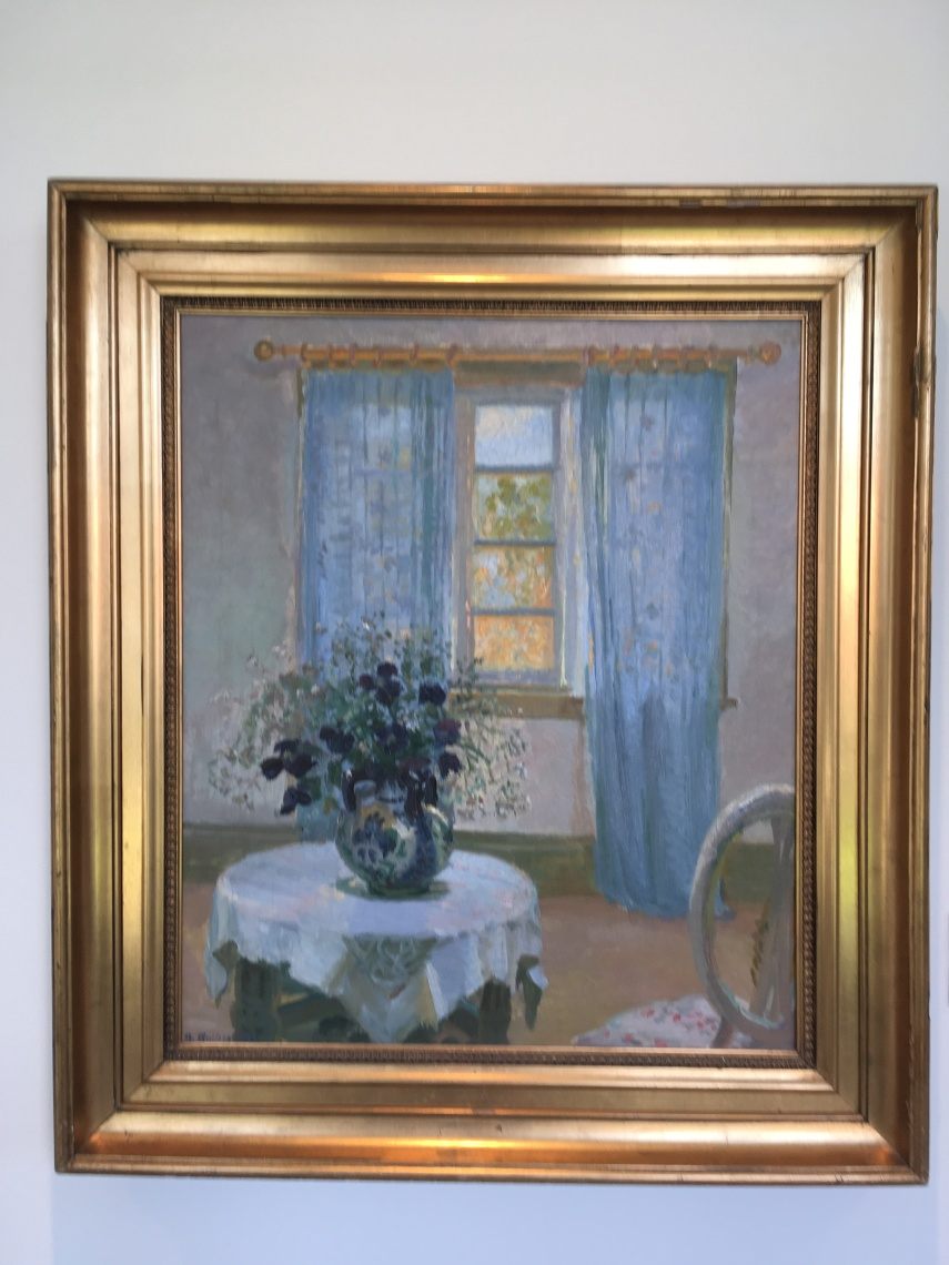 "Anna Ancher: ""Interior With Clematis"" 1913"