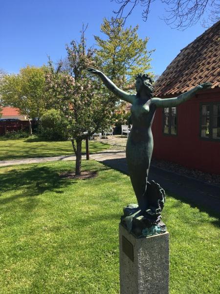 The Skagen Museum garden