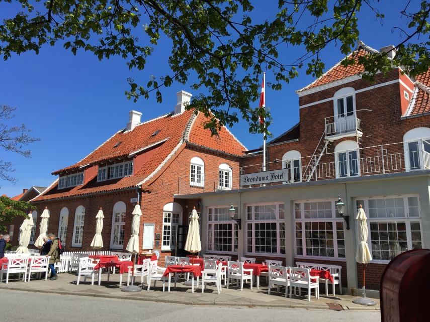 View from the Skagen Museum: Broendom's Hotel