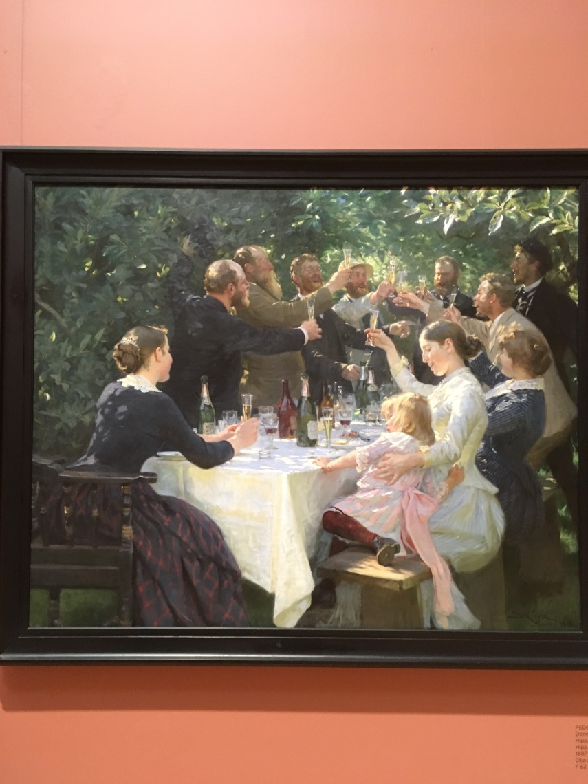 Hip Hip Hurrah by P.S. Kroeyer 1888 Gothenburg Art Museum