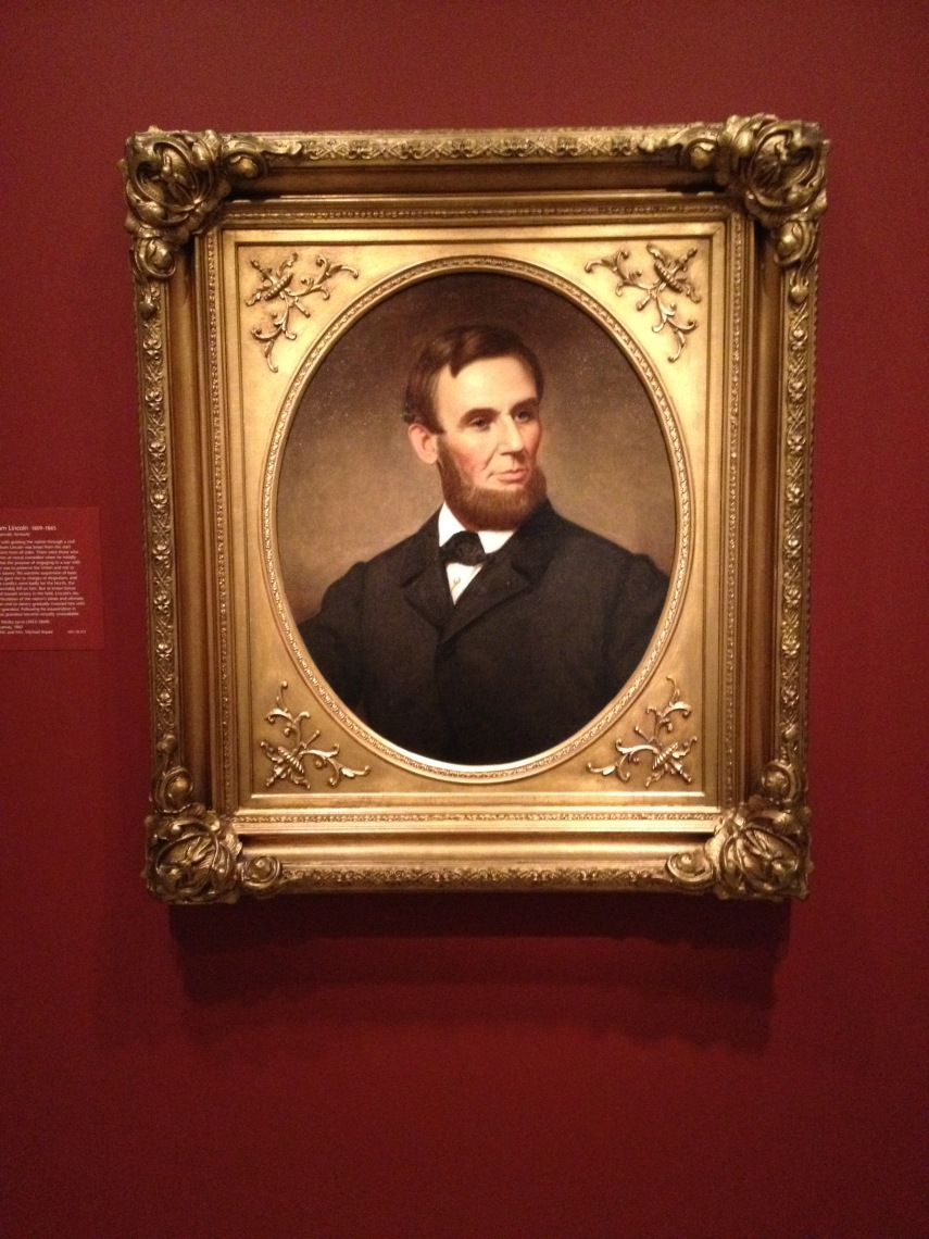 Abraham Lincoln 1809-1865 painted by Charles Wesley Jarvis 1861