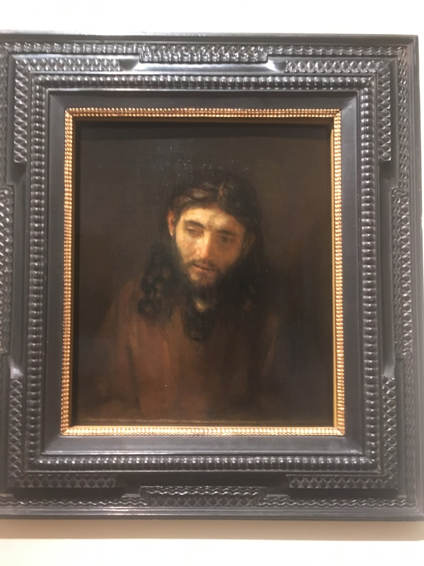 Rembrandt van Rijn. Head of Christ 1648-1656