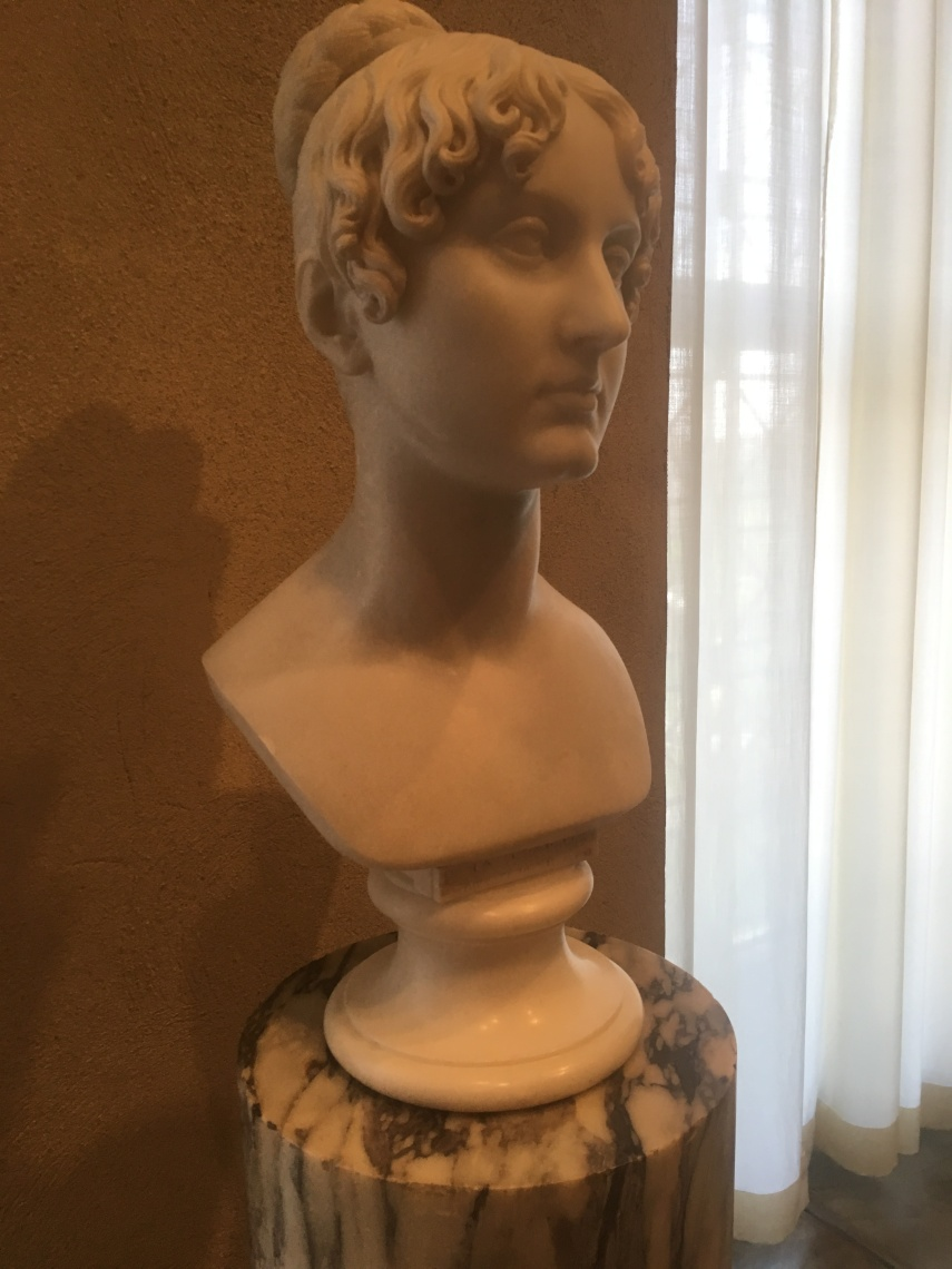 Marble. Bertel Thorvaldsen, Danish active in Rome and Copenhagen, Born 1770 died 1844
