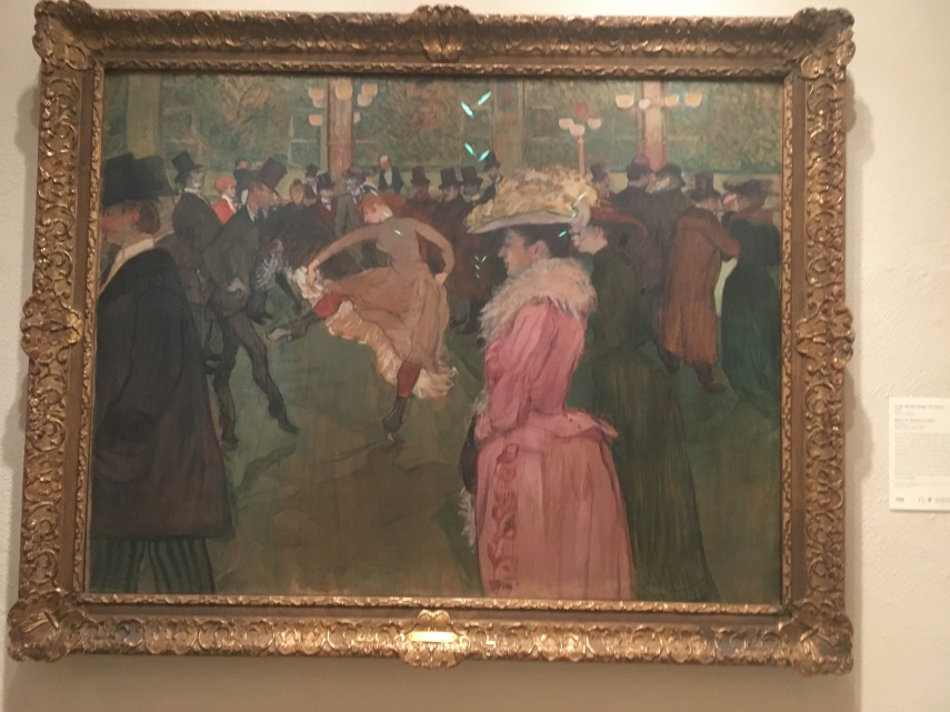 At the Moulin Rouge: The Dance 1890. Henri de Toulouse-Lautrec,