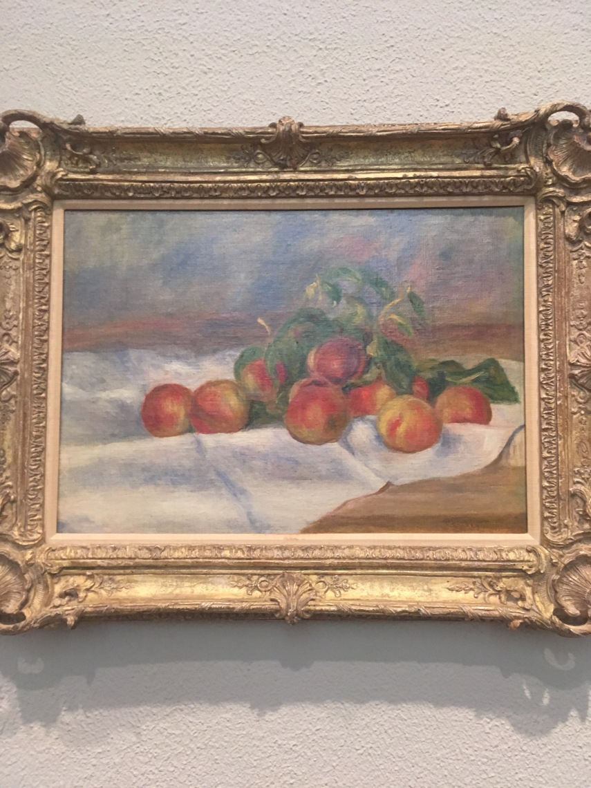 Peaches 1895, Pierre- Auguste Renoir, French. 1841-1919