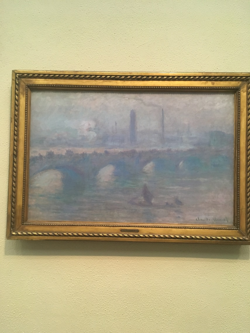 Waterloo Bridge, London. Morning Fog 1901. Claude Monet French, 1840-1926