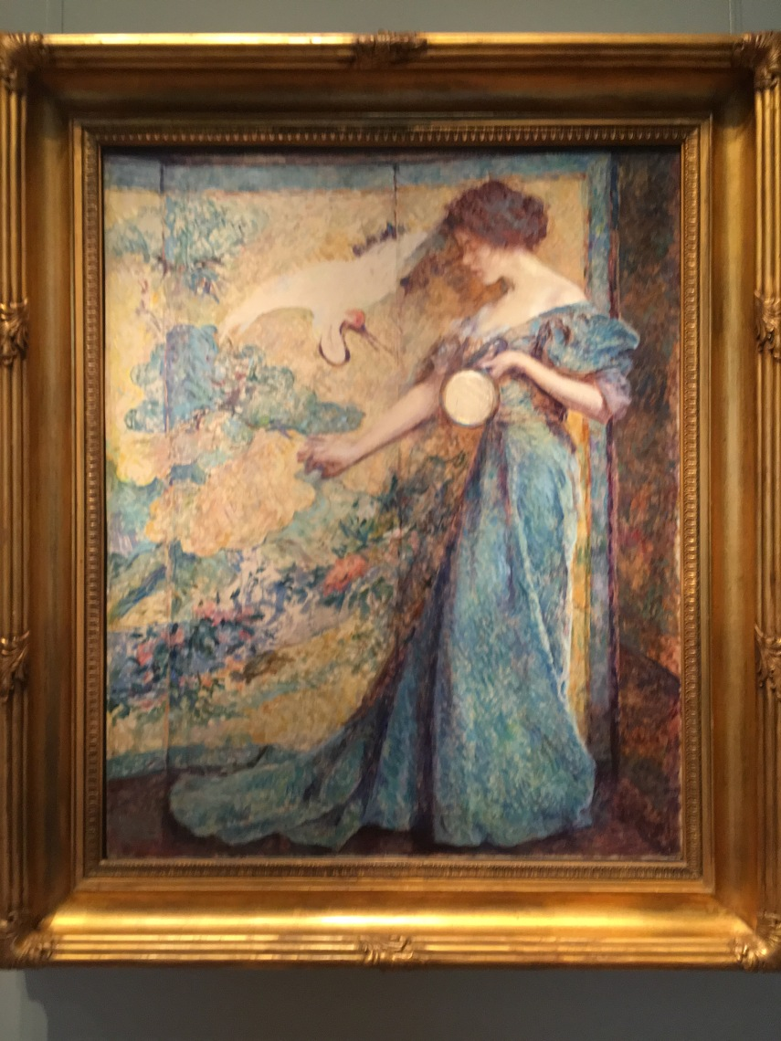 The Mirror about 1910, Robert Reid, born Stockbridge, MA 1862 died Clifton Springw, NY 1929