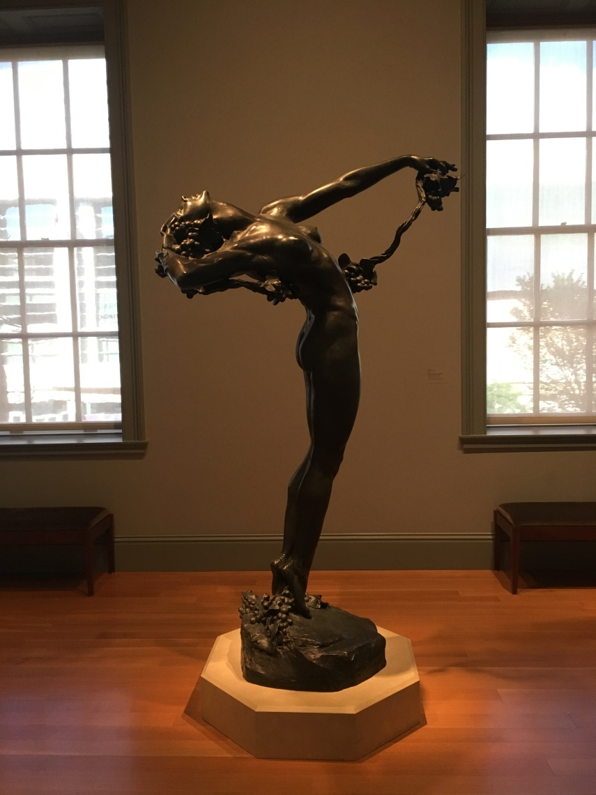 The Vine Bronze 1923, Harriet Whitney Frishmuth. Born in Philadelphia 1880- 1980 died Waterbury Connecticut